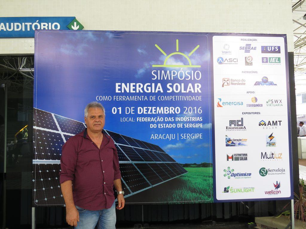Simpósio de Energia Solar em Sergipe