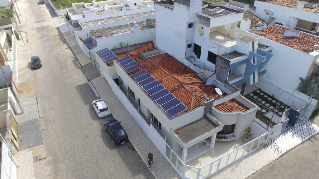 Instalação de 6,03kWp do Sr. Edivaldo Cunha, Itabaiana – Sergipe