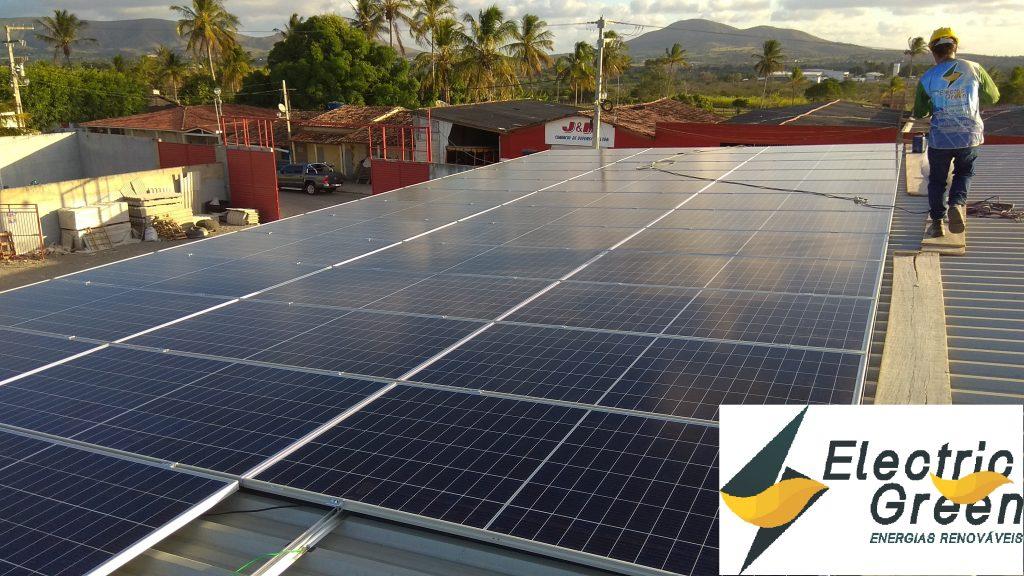 Instalação de 20,235kWp na empresa Rei do Adulbo – Itabaiana – Sergipe